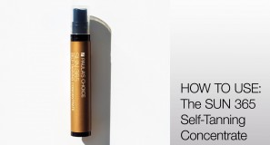 HOW TO USE: The SUN 365 Self-Tanning Concentrate